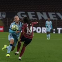 champions league feminine (Servette FC - Atletico Madrid 2-4)